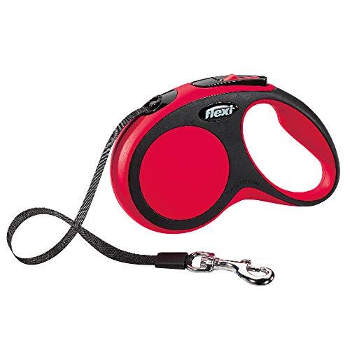 flexi New Comfort M Gurt 5 m rot für Hunde bis 25 kg