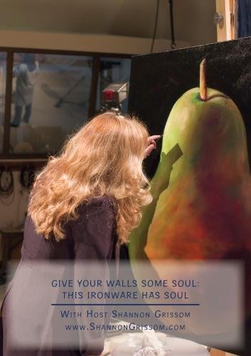 Give Your Walls Some Soul: This Ironware Has soul by Shannon Grissom