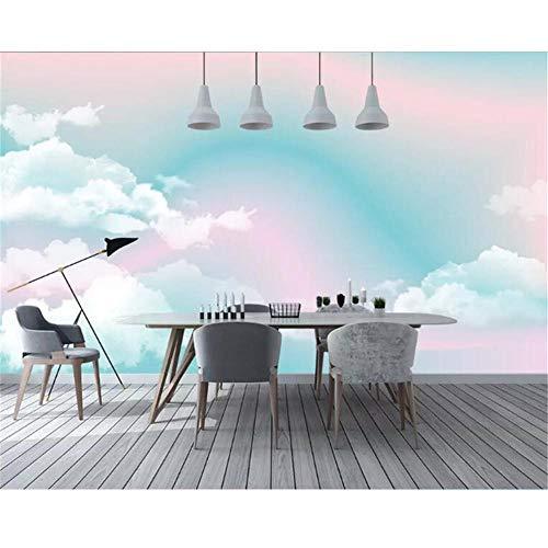 Newberli Papel Tapiz Fotográfico Personalizado Mural 3D Material De Alta Calidad Paisaje Abstracto Arco Iris Fondo De Pantalla De La Habitación De Los Niños