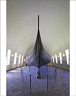 robertharding 10x8 Print of Gokstad Ship, 9th Century Burial Vessel, Viking Ship Museum (5064199)