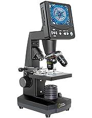 ميكروسكوب ناشيونال جيوغرافيك 40X-1600X ال سي دي، 80-10301