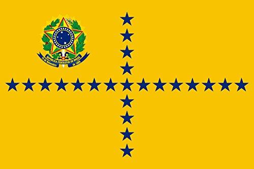 DIPLOMAT Flagge Vice President of Brazil | Vice-President of Brazil | Vice-Presidente do Brasil | Querformat Fahne | 0.06m² | 20x30cm für Flags Autofahnen