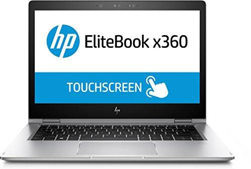 HP Elitebook X360 1030 G2 Notebook Convertibile, Intel Core i7-7600U, RAM 16 GB, SSD da 512 GB, Display 13.3' Touch Full HD (1920 x 1080), Windows 10 Pro, Argento