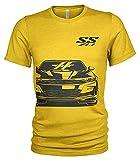 SS ZL1 Chevy Camaro Sidekick T-shirt - Jaune - Small