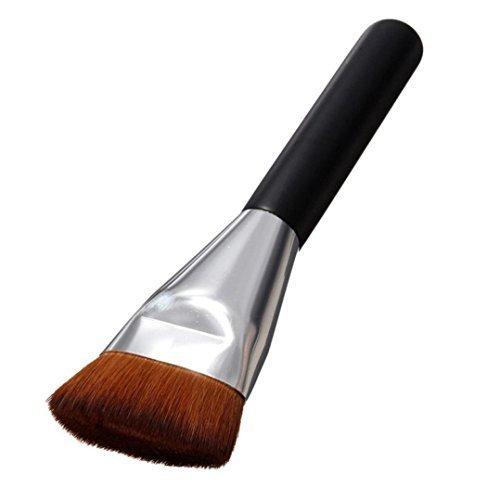 Pinceaux Maquillage, Koly Maquillage Cosmetic Blush Brush Pinceau Professionnel +Brosse ombre à paupières(2 pièces)