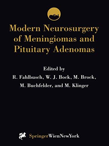 Modern Neurosurgery of Meningiomas and Pituitary Adenomas (Acta Neurochirurgica Supplement Book 65)