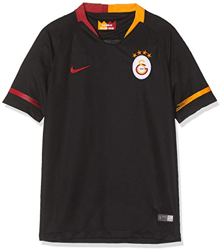 Nike Kinder Auswärttrikot Galatasaray Istanbul Stadium 2018/2019, Black/Pepper red, XL - 158/170 cm, 919238