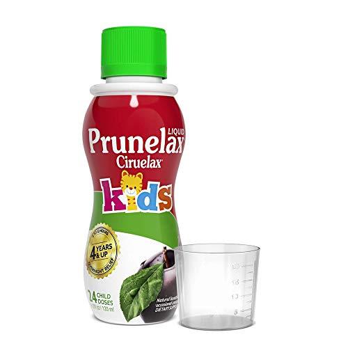 Prunelax Ciruelax Natural Laxative Regular Liquid for Kids, Assorted, Fruit, 4.08 Fl Oz