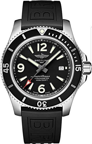 Mens Breitling Superocean 44mm Watch 1000 Meter Waterproof
