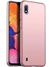 Ttimao Compatible con Funda Samsung Galaxy Note 20 Ultra Diseño Simple Ultra Delgada PC Hard Shell Anti-Caída Anti-Scratch Anti-Shock Cubierta Superficie Mate Funda Protectora-Oro Rosa