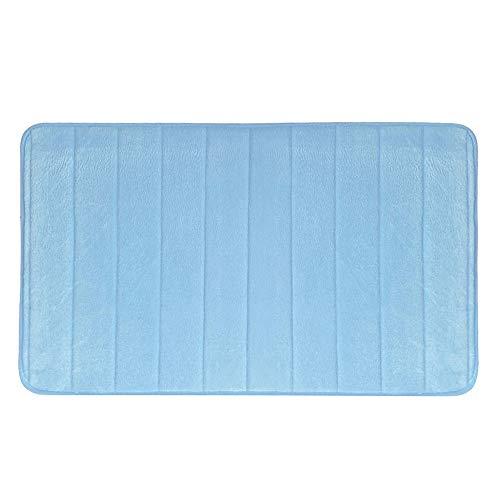 YWLINK Memory Cotton Coral Teppichmatten FußMatte Wasseraufnahme Leicht Zu Reinigen Rutschfeste Badematten Teppiche FüR KüChe 50 * 90CM