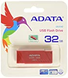 ADATA UV330 USB 3.1 Capless Retractable Flash Drive 32 GB, Red - (AUV330-32G-RRD)
