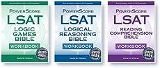 The PowerScore LSAT Bible Workbook Trilogy