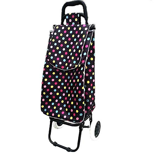 LRL Carts Utility Carts - Trolley cart elderly Stairs shopping cart on Wheels Woman shopping basket large Household shopping bags Trolley Trailer foldable Convenient your life Save time and energy