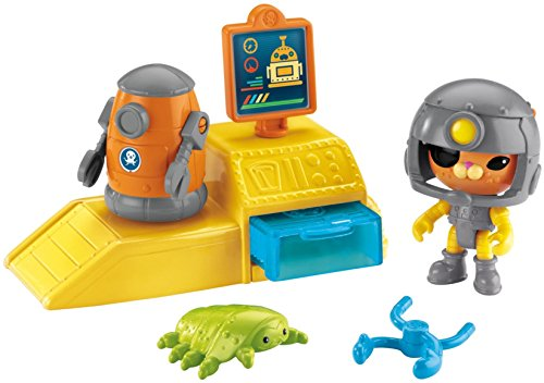 Mattel - Fisher-price Octonauts Kwazii Bot Station