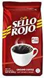 Café Sello Rojo Traditional Coffee | Smooth & Flavorful | Low Acidity, No Bitter Aftertaste | 100% Colombian Medium Roast Ground Coffee | Café de Colombia | 35.27 Ounce (Pack of 1)