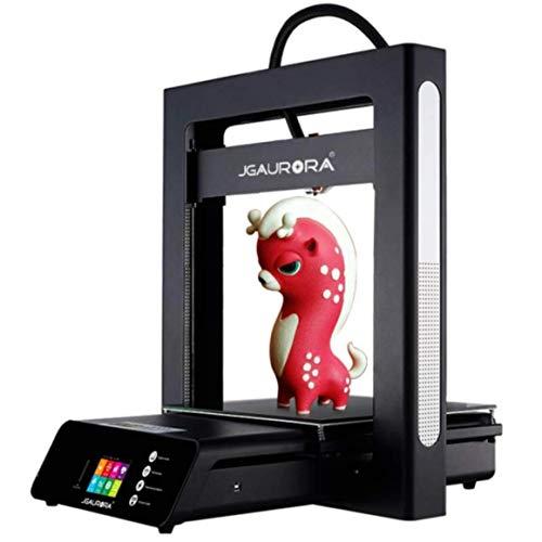 JGaurora A5S 3D-Drucker aktualisierte Version, neuer Extruder, mit Glasplatte,verbesserter Touchscreen, Metall-Rahmen, für 1,75mm Filament funktioniert mit PLA, ABS, PETG, TPU 305x305x320mm