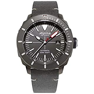 Alpina AL-525LGGW4TV6 Men's Seastrong Diver 300 Grey Strap Watch (B07TS7B8YC) | Amazon price tracker / tracking, Amazon price history charts, Amazon price watches, Amazon price drop alerts