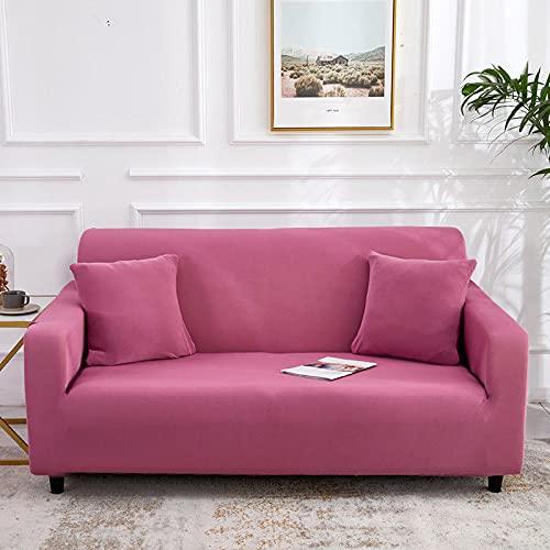ASCV Funda de sofá de Alta Elasticidad para Sala de Estar Funda Universal de poliéster Funda de sofá elástica Funda de sofá de Esquina A8 4 plazas