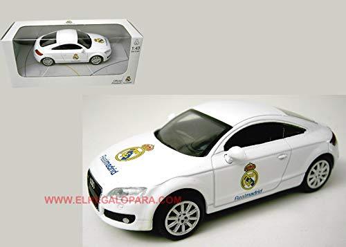 Newray modelo de coche Audi TT Real Madrid escala 1:43