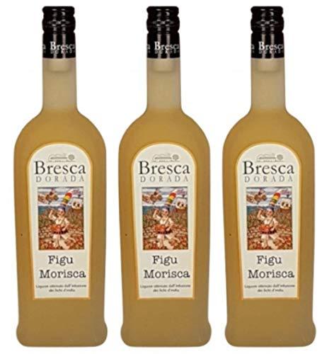 Bresca Dorada Figu Morisca Kaktusfeigenlikör 0.5 L, 3413,  3er Pack (3 x 500 ml)