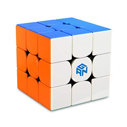GAN 356 R S, Cubo Mágico Speed Puzzle de Gans Cube Juguete Rompecabezas Regalo (Sin Pegatinas)