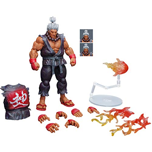 Storm Collectibles Shin Akuma [SDCC 2018 Special Edition]: 1/12 Street Fighter V x Action Figure [87071]