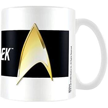Taza de cer/ámica Star Trek Command dorado
