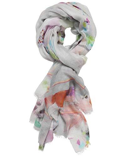 Ahujasons Damen Schal mit Blumendruck Multi-gefärbt Ein Größe