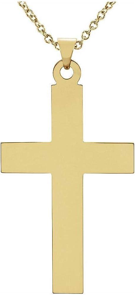 39x25mm Cross Crucifix Charm Pendant (39mm x 25mm)