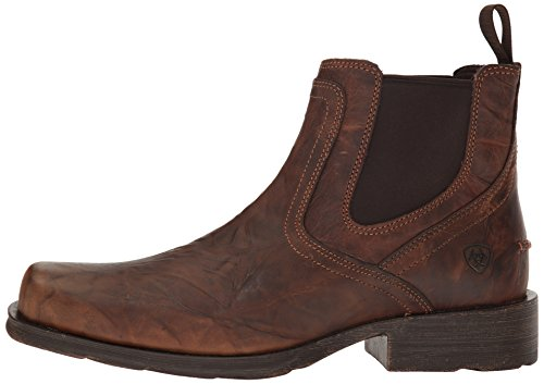 Ariat Mens Midtown Rambler Casual Boot, Barn Brown, 9.5 D US