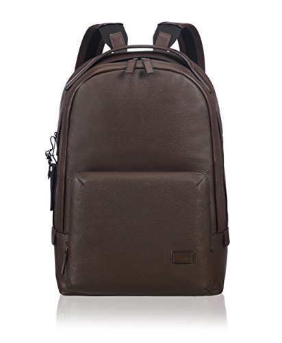 "Tumi Harrison - Webster Laptop Backpack 15"" Mochila Tipo Casual, 46 cm, 19 Liters, Marrón (Brown Pebbled)"