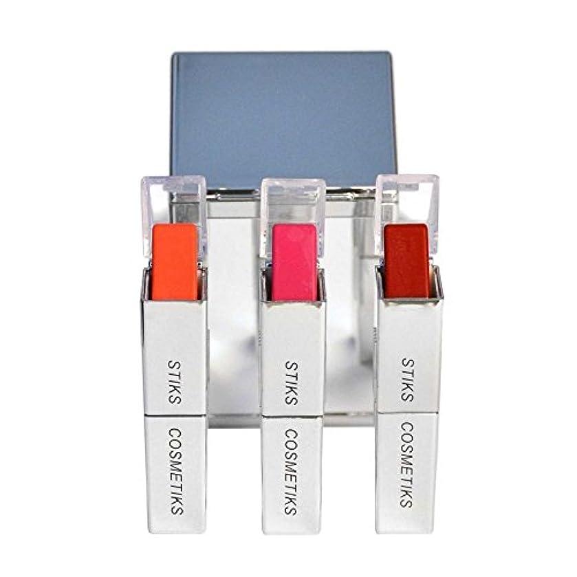 食物南東レモンコレクション - フロントとセンター x4 - STIKS Cosmetiks Collection - Front and Center (Pack of 4) [並行輸入品]