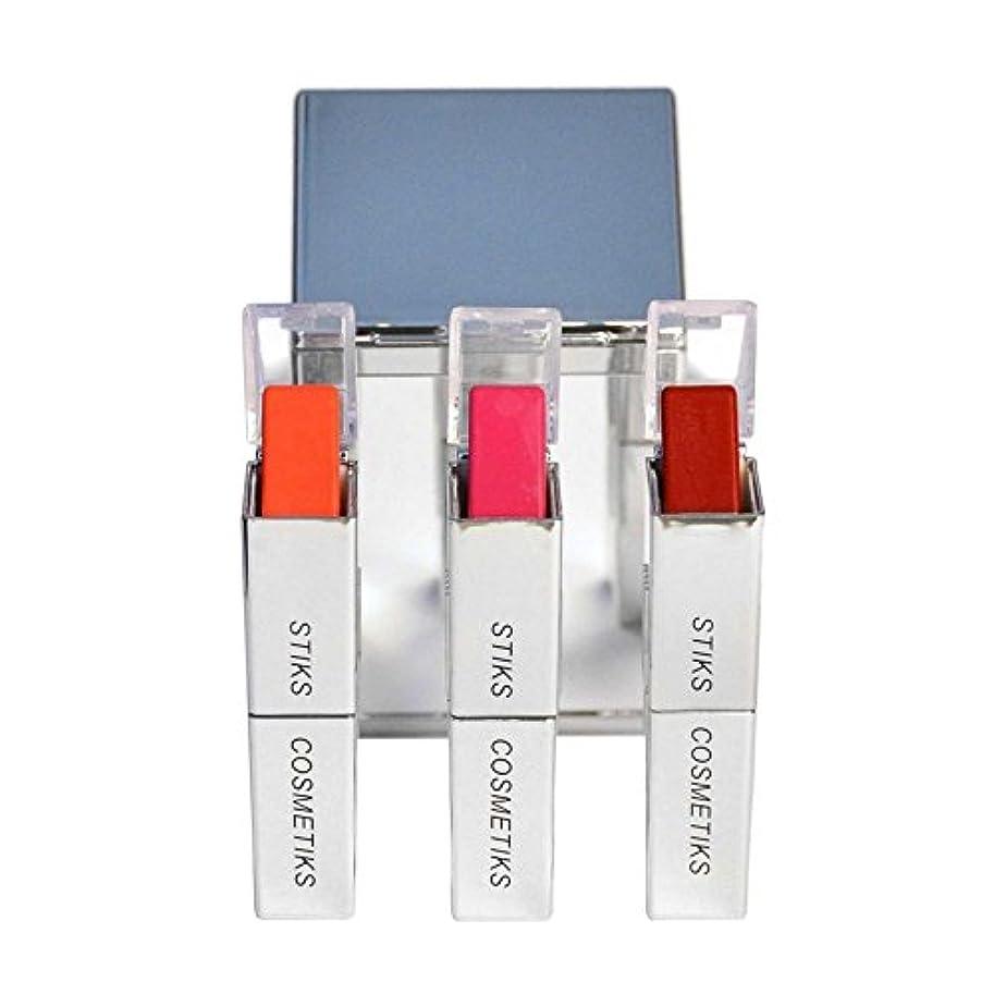 お酢野望ダイヤモンドコレクション - フロントとセンター x2 - STIKS Cosmetiks Collection - Front and Center (Pack of 2) [並行輸入品]