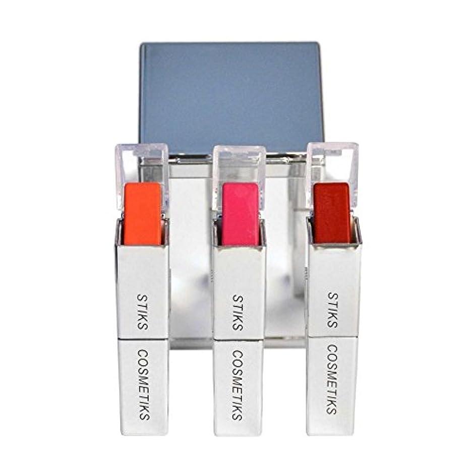 ループオレンジ埋め込むコレクション - フロントとセンター x4 - STIKS Cosmetiks Collection - Front and Center (Pack of 4) [並行輸入品]
