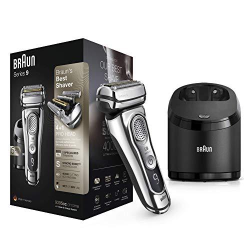 professionnel comparateur Braun Series 99395cc dernière génération, station de rasage, de nettoyage et de charge électrique pour hommes,… choix