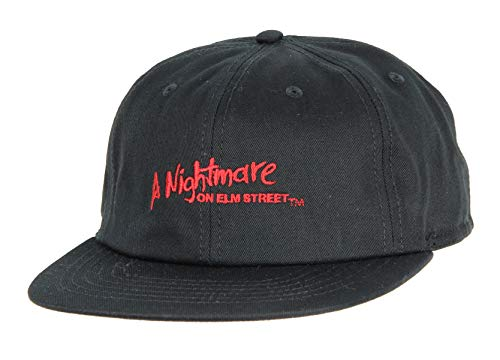 A Nightmare On Elm Street Freddy Krueger Adjustable Hat Black