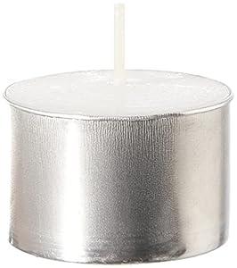 Pajoma - Velas de té sin Perfume, 100 Unidades, Tiempo de combustión: 8 Horas. Velas de té Gastro.