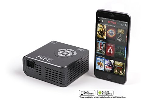AAXA P5 LED Portable Pico Projector, 300 Lumen, 1280x720P HD Resolution, 135 Min Battery, 20,000 Hour LED, Media Player, Business Photo #4