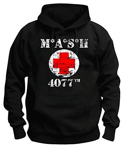 Preisvergleich Produktbild TShirt-People TSP MASH 4077 Kapuzen-Sweatshirt Herren XXXL Black