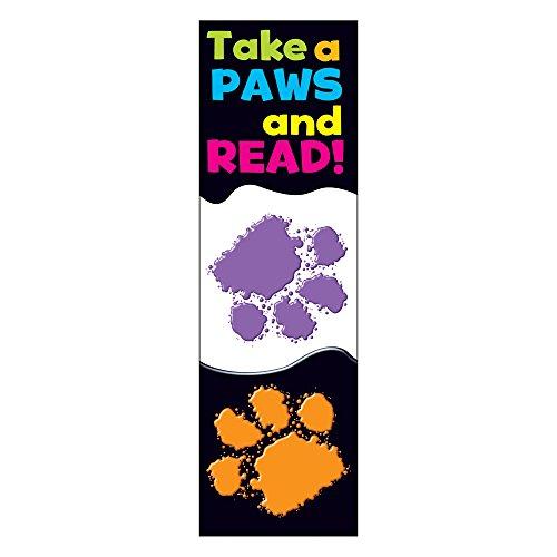 TREND ENTERPRISES, INC. Take a Paws Bookmarks, 36 ct