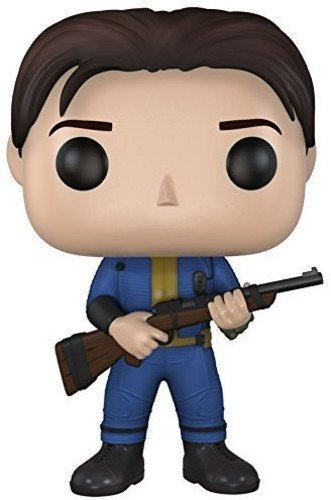 Funko 021048 Pop Games: Fallout 4 Sole Survivor 75 Vinyl Figure