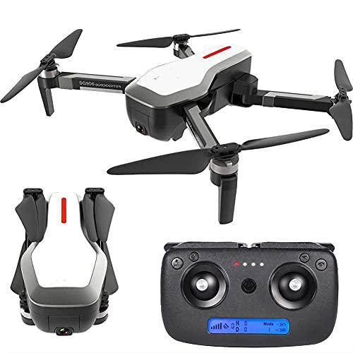 FMHCTN Drone GPS ad Alta Definizione, Fotografia Aerea 4K Pieghevole, Batteria a Lunga Durata, quadricottero Motore brushless con Trasmissione di Immagini 5G per Principianti e Professionisti