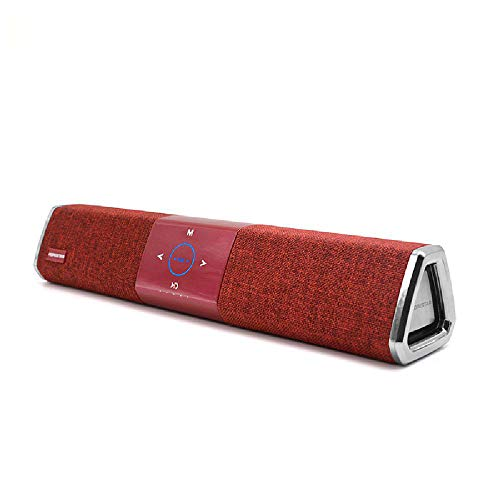 Impermeable portátil inalámbrico portátil de tiempo de reproducción de viaje Bluetooth altavoz largo amplia gama de Bluetooth realzó con cancelación de ruido del micrófono,Red