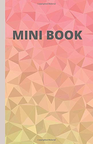MINI BOOK:: Graph Paper NoteBook Size 5.06'' X 7.81'' 140 Pages For Kids And adults, thick solid lines.