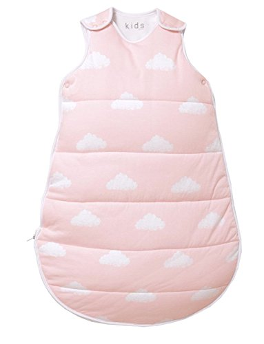 TCM Tchibo Baby Schlafsack Baumwolle Single-Jersey ca.65 cm (Rosa)