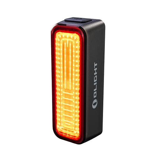 OLIGHT RN 180 TL Bike Lights, 180 Lumens 8 Modes Tail Light with 2000m Viewable Range, 260 Degree Visibility USB Rechargeable Lights, IPX6 Waterproof Rating, Powered by 3.7V 800mAh Battery