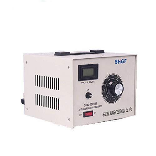 STG-1000W Autotransformer AC 10A 110V Variable Voltage Regulator Transformer 50/60Hz Auto Transformer Voltage Converter Box
