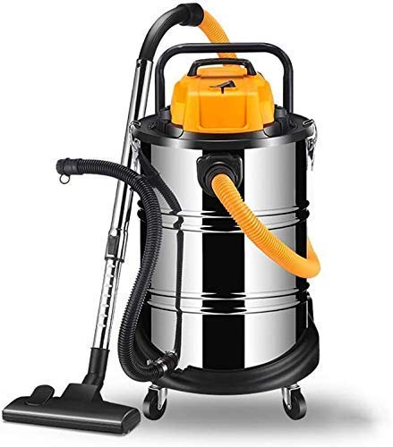 LTLJX Hogar Aspirador/Comercial Industrial Vacuum Cleaner, 1600W de Alta Potencia, de Gran Capacidad 60L, 22m Diámetro de utilización, for Inicio/Hotel/Oficina/Estacionamiento LUDEQUAN