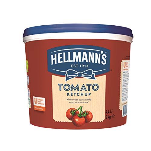 Hellmann's Tomato Ketchup (fruchtig, tomatiger Geschmack) 1er Pack (1 x 5 kg)